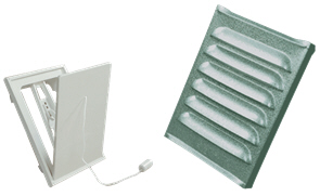 FlexIt Ventilationsgaller