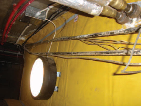 P54 isolerad brandduk