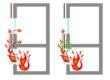 Luftspaltsventil brandsäker fasad