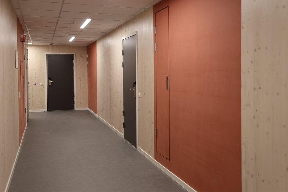 Kringsjå studentby. Foto: LMR arkitektur