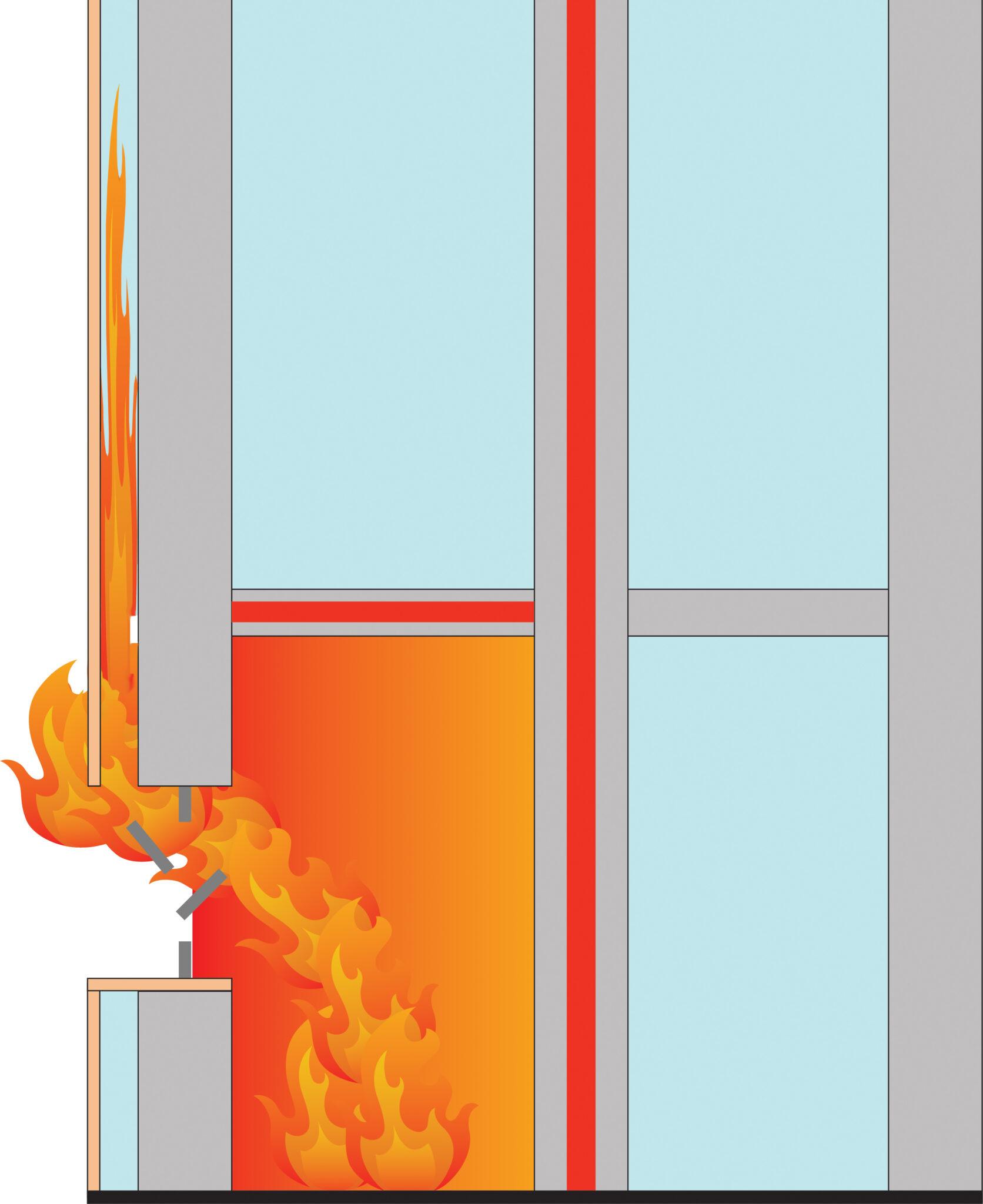 Oskyddad fasad